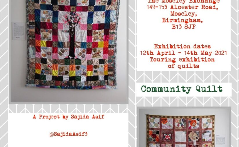 Quilt of Life at Moseley Exchange