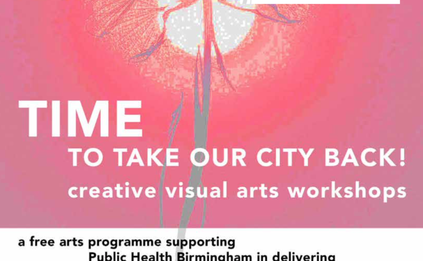 Time to take our city back – 4 week creative visual art workshops